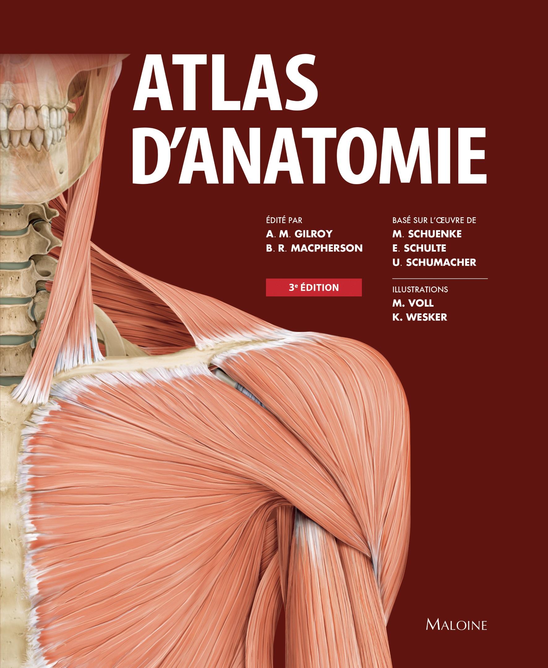 Atlas d'anatomie 3e éd.
