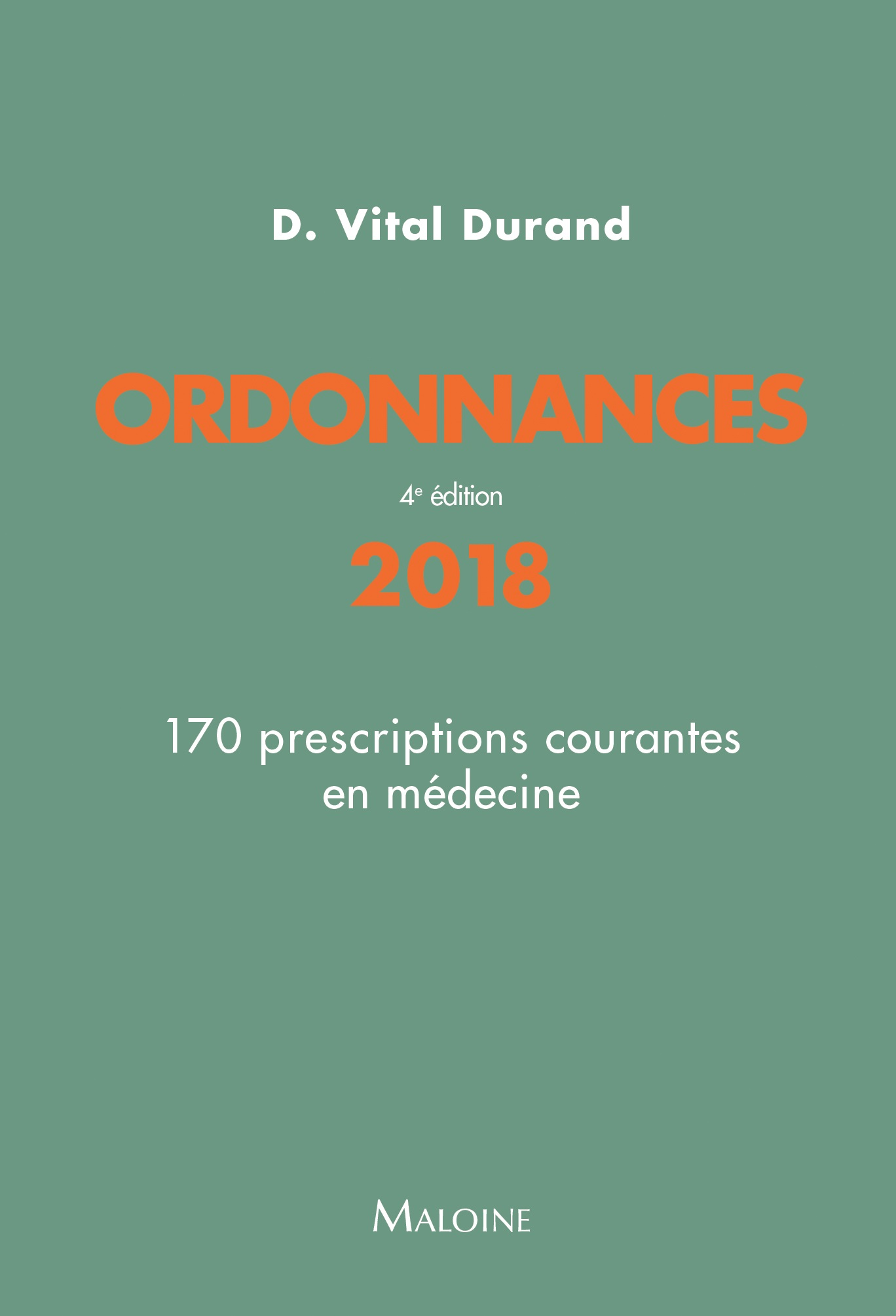 Ordonnances 2018