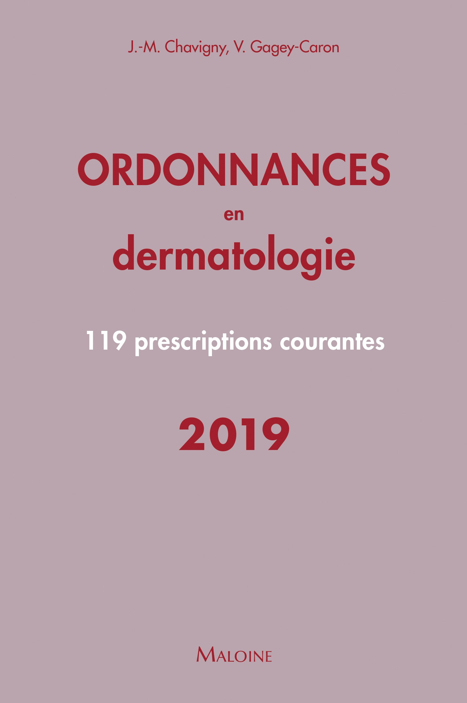 Ordonnances en dermatologie