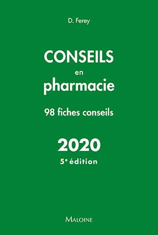 Conseils en pharmacie, 5e éd.