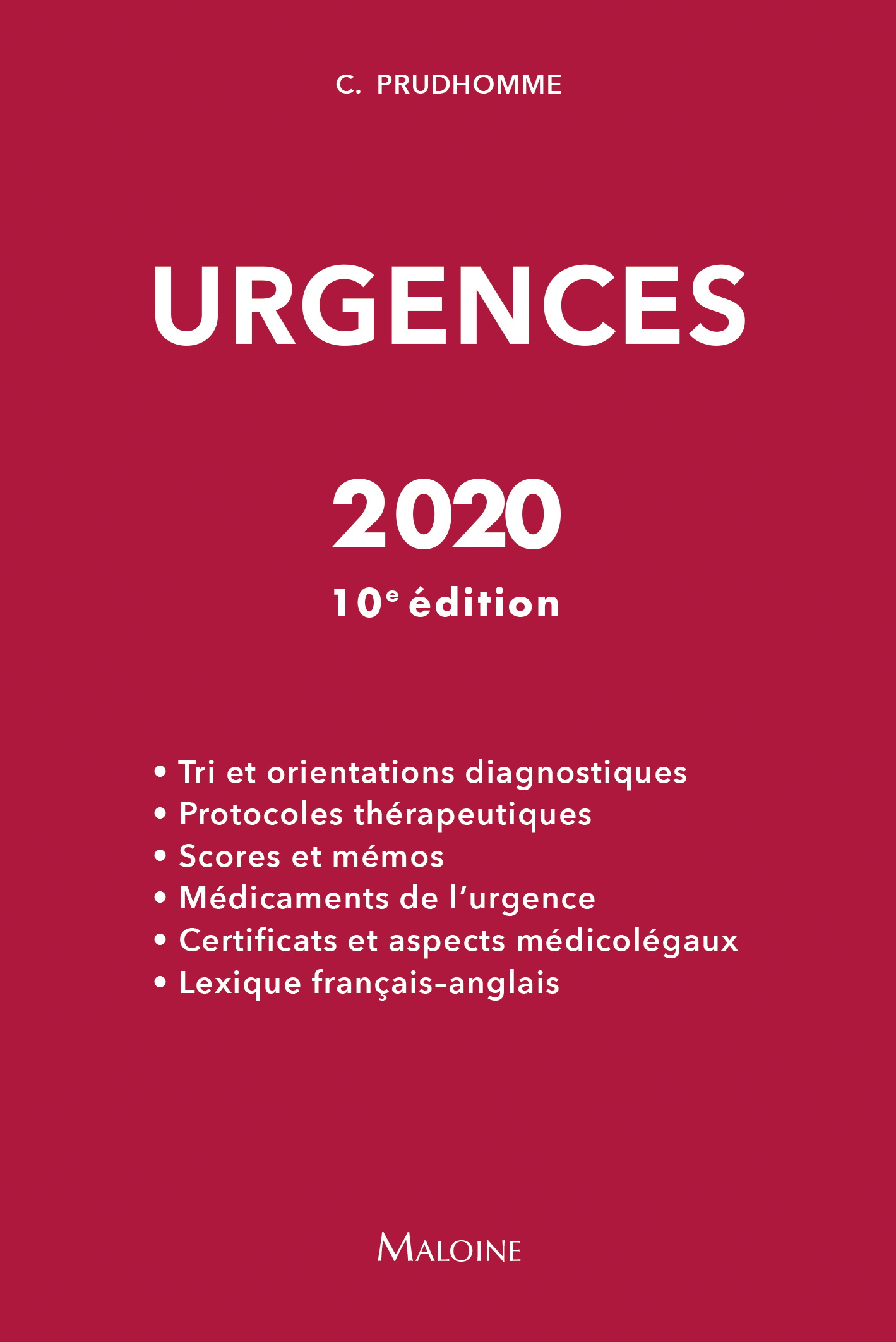 Urgences, 10e éd.