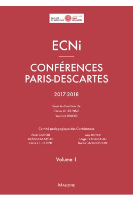 ECNi – Conférences Paris-Descartes – Volume 1 – 2017-2018