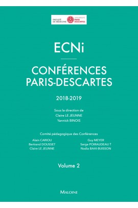 ECNi – Conférences Paris-Descartes – Volume 2– 2018-2019
